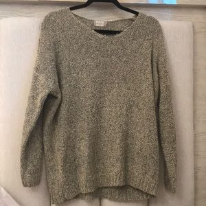 Wool Altar'd state tan and black sweater